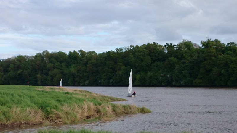 17 May 2015 evening sail