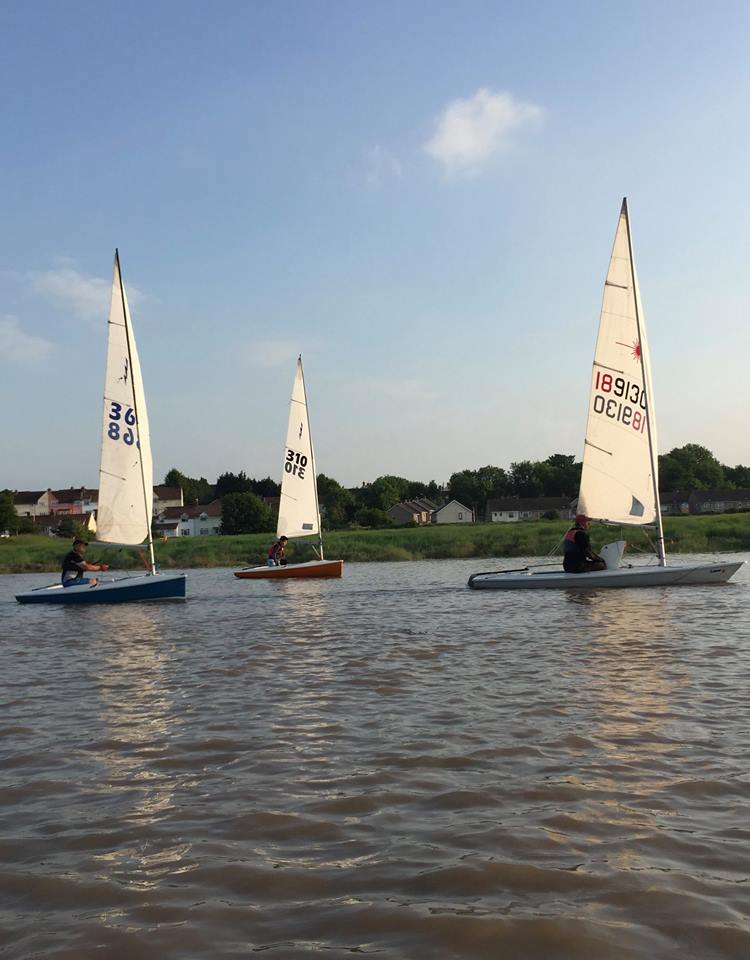 Evening sail of the 05 June 2016